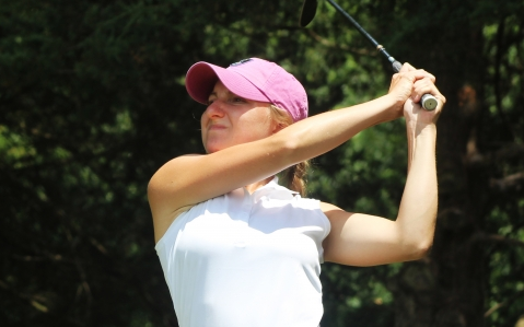 Anna Gleixner picked up first career win <br>(Indiana Golf Association Photo)</br>