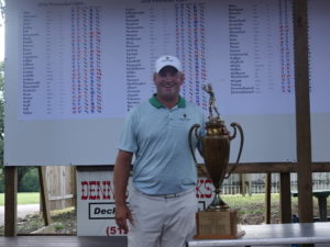 Chris Benestante after Firecracker Open victory <br>(Golf Austin Photo)</br>