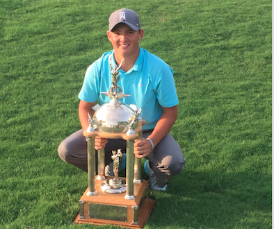 Charles Huntzinger wins the Dogwood Invitational