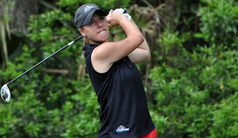 Florida's Sydney Needham shares lead at Women's North & South Amateur<br>(Pinehurst Resort Photo)</br>