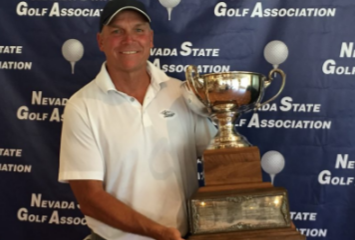 Stephen Sear hoists Nevada Amateur trophy for second straight year <br>(SNGA Photo)</br>