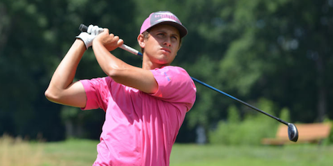 Jeremy Nevius during New Jersey Open first round <br>(NJSGA Photo)</br>