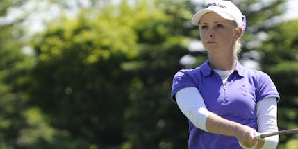 Texas A&M's Maddie Szeryk leads field <br>(Golf Canada Photo)</br>