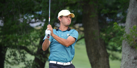 Jeremy Nevius during New Jersey Open play<br>(NJSGA Photo)</br>