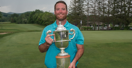2016 Massachusetts Amateur Champion Brendan Hunter <br>(Photo by David Colt of the MGA)</br>