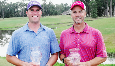 John Justus and Donny Schmitt win Louisiana Four-Ball <br>(LGA Photo)</br>