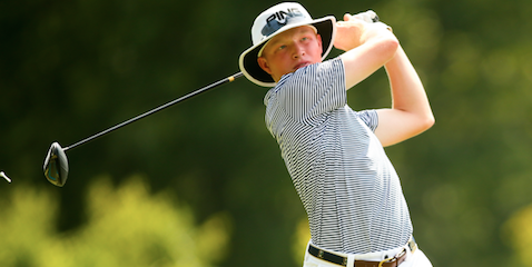 Travis Vick is U.S. Junior Amateur medalist <br>(USGA Photo)</br>