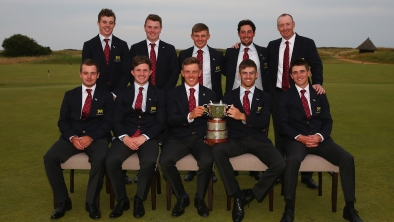 St. Andrews winning GB&I team <br>(R&A Photo)</br>