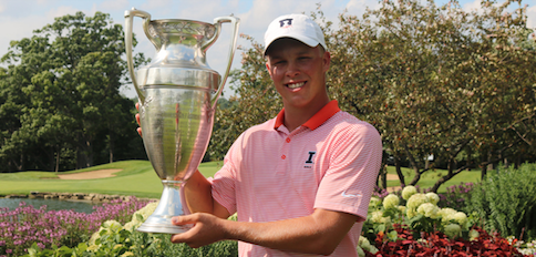 Nick Hardy at the Illinois State Amateur <br>(CDGA Photo)</br>