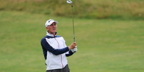 Euan McIntosh during Wednesday play <br>(Scottish Golf/Kenny Smith Photo)</br>
