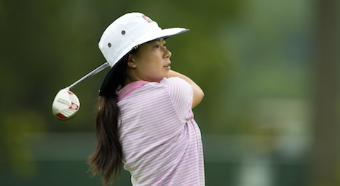 Mika Liu came out firing on Monday (USGA photo)