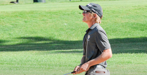 Jake Quast during first round play at Emerald Valley Golf Club <br>(OGA Photo)</br>