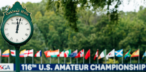 Time is yet to run out on the 23 players in the U.S. Amateur playoff <br>(USGA Photo)</br>