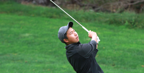 Eddy Lai during Tuesday play at the NCGA Match Play <br>(NCGA Photo)