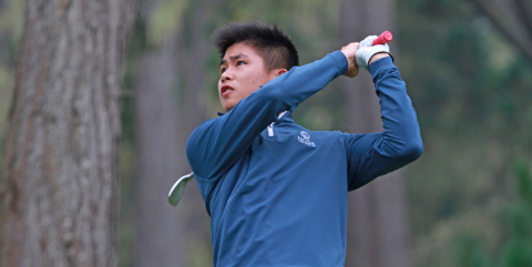Two-seed Shintaro Ban on Wednesday <br>(NCGA Photo)