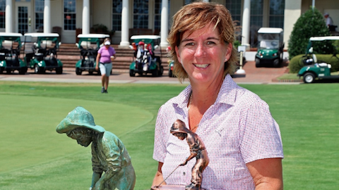 Judith Kyrinis <br>(Photo by Thomas Tooohey Brown of Pinehurst Resort)
