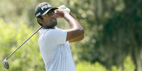 Sahith Theegala at the U.S. Amateur <br>(Golfweek Photo)