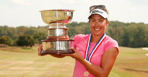 Lauren Greenlief became the youngest U.S. Women's Mid-Amateur champion in 2015 <br>(USGA Photo)