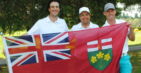 Team Ontario won the Canadian Mid-Amateur team title <br>(Golf Canada Photo)