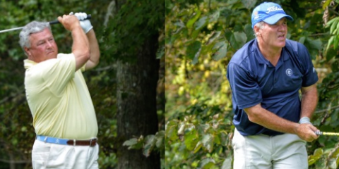 Keith Decker will face Rich Buckner in the Virginia Senior Amateur final <br>(VSGA Photo)