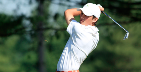 Senior All-American Gavin Hall will be leading another strong Texas team <br>(Golfweek Photo)