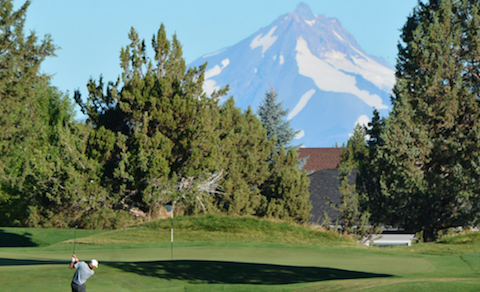 The Inaugural Oregon Four-Ball is being held at Eagle Crest Resort <br>(OGA Photo)