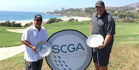 Michael Armendariz (L) and Jason Rourk after SCGA Affiliate titile <br>(SCGA Photo)