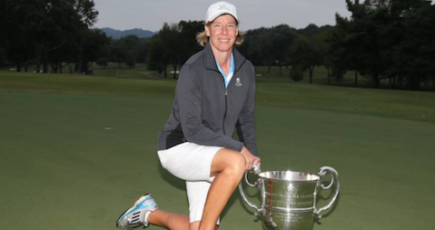 Defending champion Karen Garcia <br>(USGA Photo)