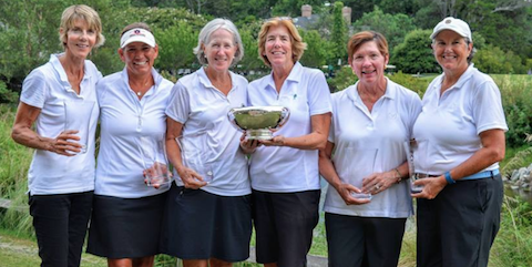 Country Club of Virginia after victory <br>(VSGA Photo)