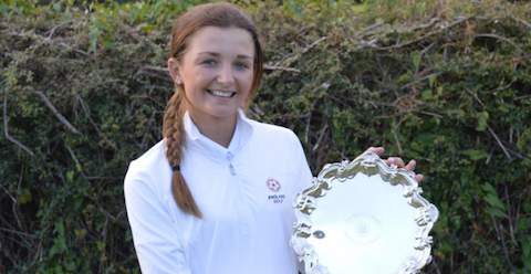 Sophie Lamb <br>(Ladies Golf Union Photo)