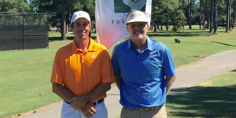 Eddie Hargett and Walter Todd <br>(SC Golf Association Photo)