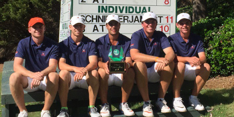 No. 21 Virginia won after their season opening win<br> at the Carpet Capital Collegiate <br>(Virginia Athletics Photo)