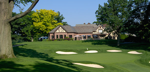 No. 13 on the East Course of Oak Hill Country Club <br>(Oak Hill Country Club Photo)