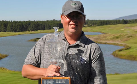 Mike Haack pulled off a big win at Sand Pines<br>PNGA photo