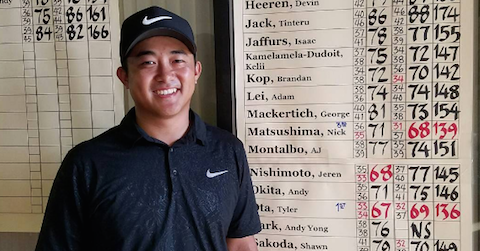 Tyler Ota <br>(HI Golf Association Photo)