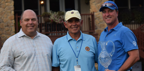 Dan Brown (R) after Pennsylvania Mid-Amateur <br>(PA Golf Association Photo)