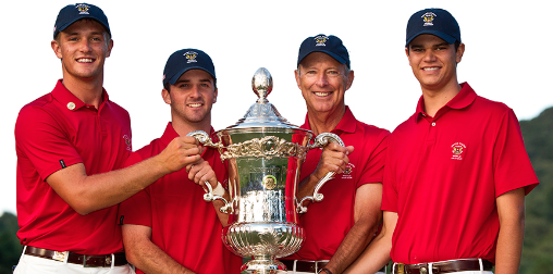 2014 Team U.S.A. World Amateur Team Championship winning team <br>(International Golf Federation Photo)