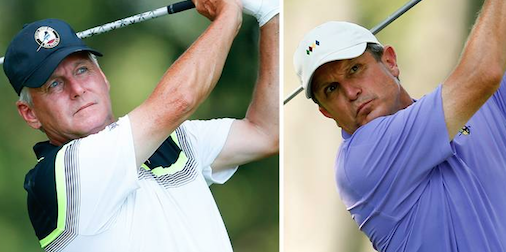 Dave Ryan (L) and Matthew Sughrue (R) <br>(USGA Photo)