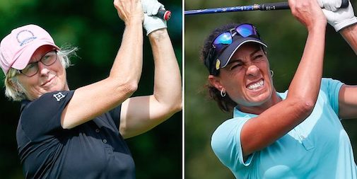 Ellen Port (L) and Andrea Kraus (R) <br>(USGA Photo)