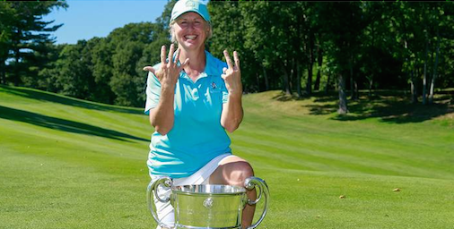 Ellen Port celebrates seventh USGA title <br>(USGA Photo)