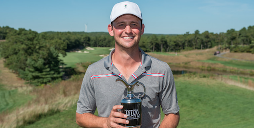 Back-to-back Massachusetts Mid-Amateur champion Matt Parziale <br>(David Colt/MGA Photo)