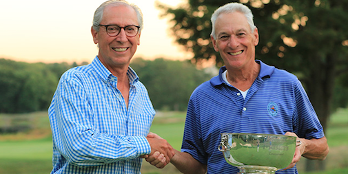 Metropolitan Senior Masters winner David Pilossoph <br>(MGA Photo)