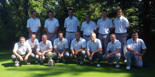 WPGA after winning third straight Palmer Cup <br>(WPGA Photo)