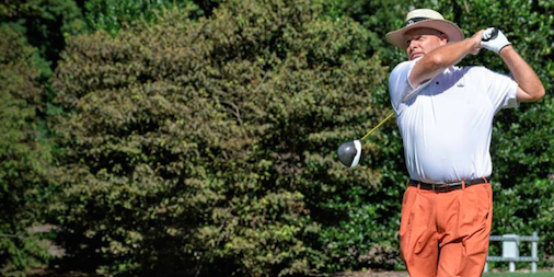Dave Pulk finished 4-under at The Country Club of Virginia <br>(VSGA Photo)