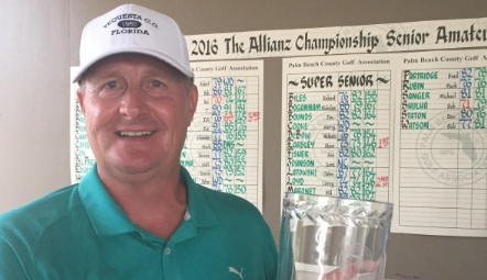 Palm Beach Senior Amateur champion Kai Niemi <br>(Pam Beach Golf Association Photo)
