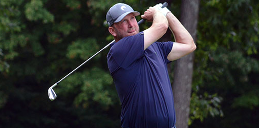 Brent Dietz and Doug Noble share the lead at Wampanoag Country Club <br>(CGA Photo)
