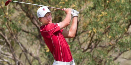Stanford Maverick McNealy has a chance to become<br> the all-time winner in Stanford program history <br>(Pac-12 Photo)