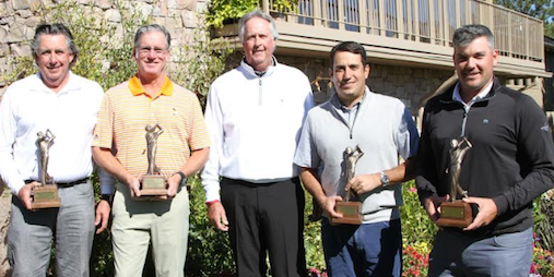 Charlie Coe Invitational winners <br>(Photo from Don Hurter of Castle Pines Golf Club)