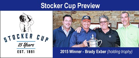 Two-time Defending Champion Brady Exber Headlines the 2016 Stocker Cup