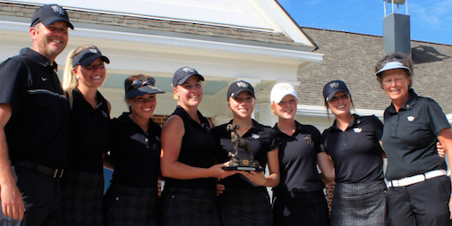Wake Forest after Tar Heel Invite win <br>(Wake Forest Athletics Photo)